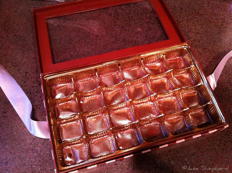 24 hours, 24 chocolates