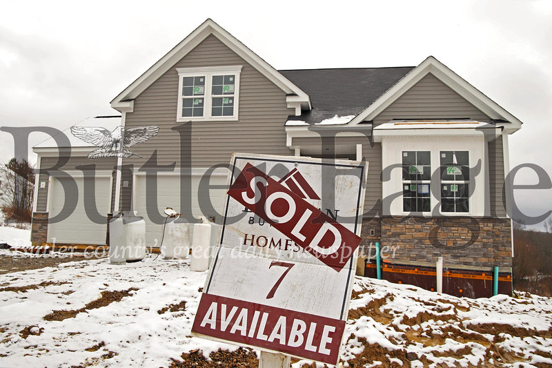 A custom built new home under contract in the Wyncrest Estate development outside of Butler. Seb Foltz/Butler Eagle