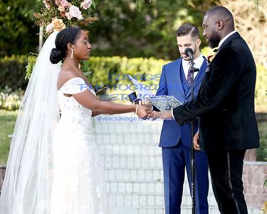 Stacy Osei-Kuffour & Sherif Alabede Wedding 1-18-20