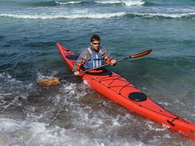 Surfing at Plathiena - 08 Oct 2010