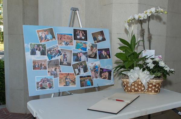 chip memorial reception