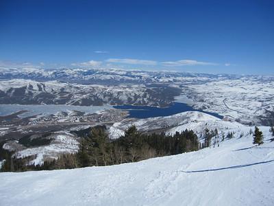 Skiing Deer Valley, Park City UT - 03/31/2011