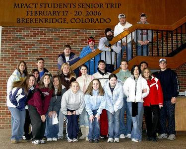 Senior Ski Trip -February 17-20, 2006