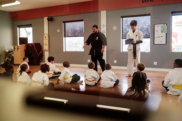 Milo Karate belt upgrade