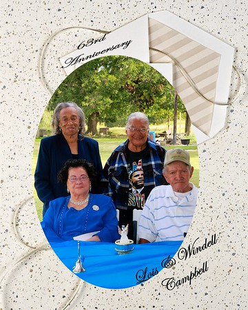 Campbell 63rd anniversary pic