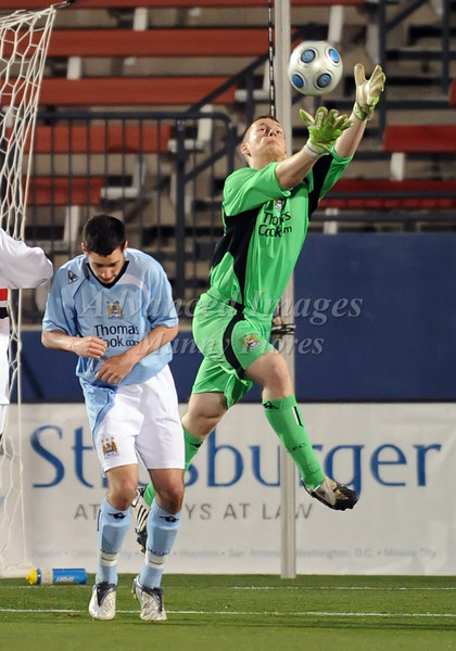 April 10th, 2009:During a Super U19 semi-final game at the Dr. Pepper Dallas Cup between the Manchester City FC and the Sao Paulo FC at the Pizza Hut Park Stadium in Frisco, Tx.