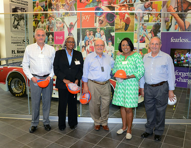 Mayor Warren and Deputy Commissioner Kate Washington tour the facilities of LiDestri Foods. 8/20/2014