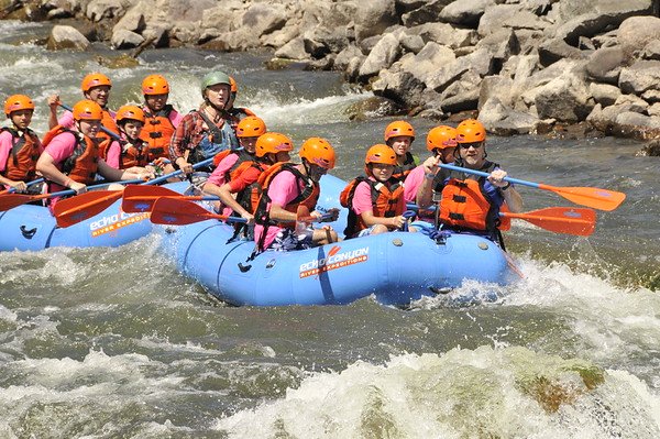 Summer Camp - Camp Alexander - Whitewater Rafting