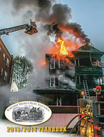 CFPA Members in Worcester Fire Department Yearbook