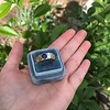 1.55ctw Old Mine Cut and Sapphire Gypsy Ring, GIA 16
