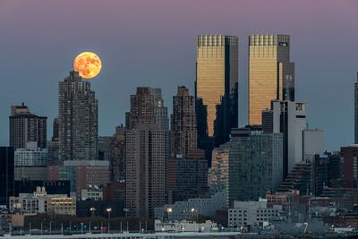 NYC- Super Moon