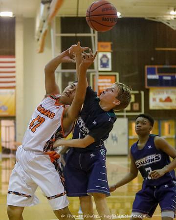 Boys Frosh Basketball v South County 12/10/19