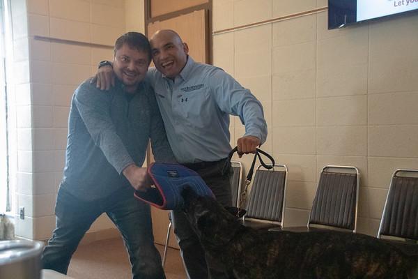 AIE 2018 Regional Training Dog Encounters