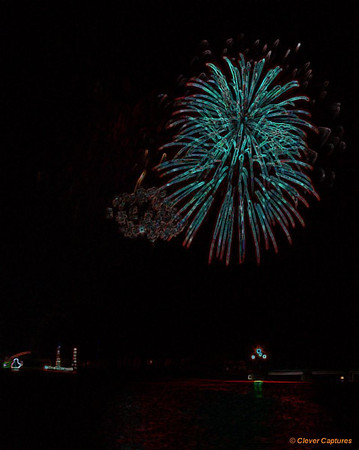 Bedford River Christmas Fireworks 2008