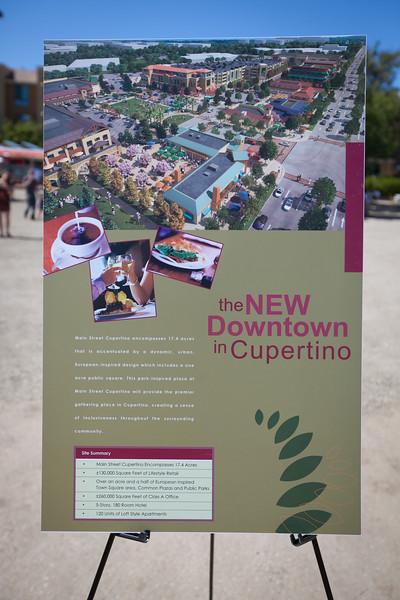 Cupertino Main Street Groundbreaking