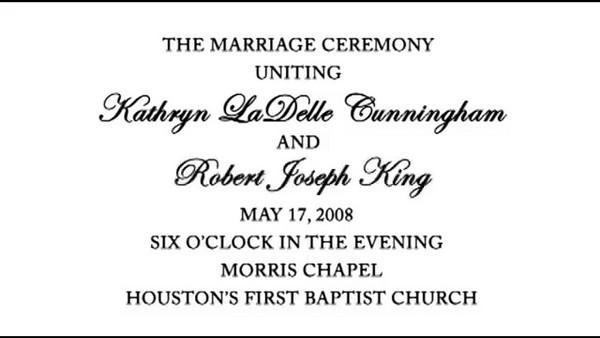 Katie & Robert's Wedding Day Highlight