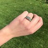 2.10ct Art Deco Peruzzi Cut Diamond Ring, GIA W-X SI2 15