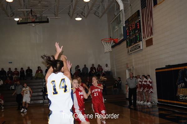 Basketball vs St Ansgar