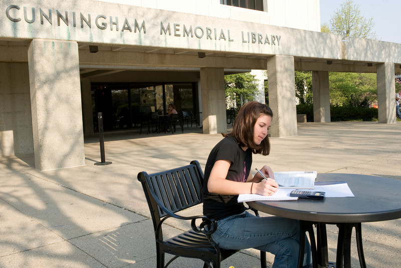library, student feature, cunningham