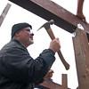 VOLUNTEERS BUILD WHALE OBSERVATION  DECK