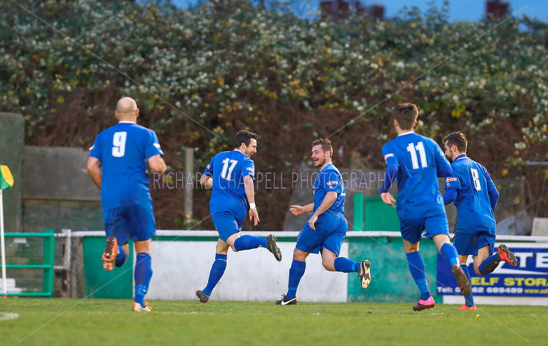 CHIPPENHAM TOWN V HITCHIN TOWN MATCH PICTURES 5th Dec 2015