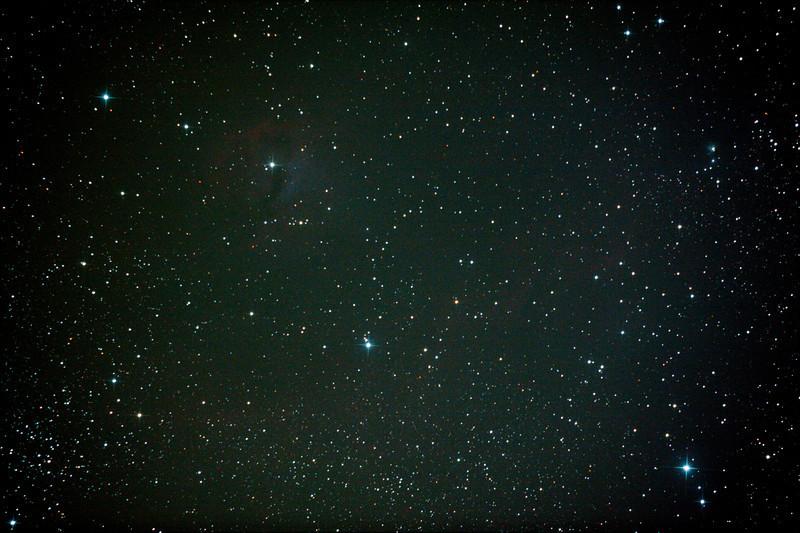 IC2177 - Gum 1 & 2 - Seagull Nebula - 9/1/2013 (Processed stack)