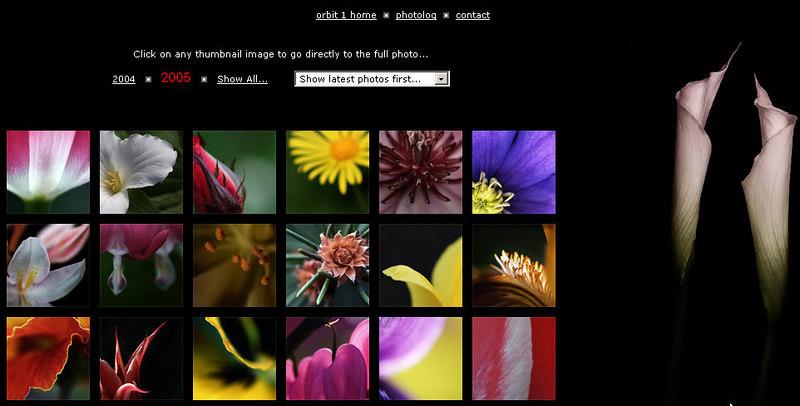 """http://www.orbit1.com/main.aspx  Fotoblog di John Perkinson, fotografo del Wisconsin. Particolarmente bella la galleria """"Winter prelude"""""""