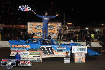 DIRTcar Sunshine Nationals - 1/18/20 - Rob Sweeten