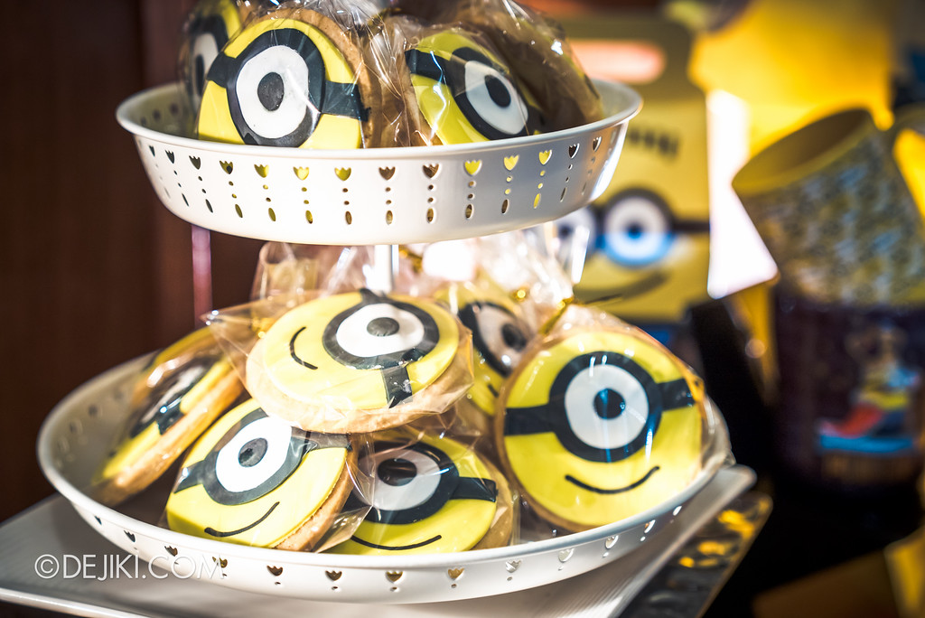 Despicable Me Breakout Party at Universal Studios Singapore / Minion cookie