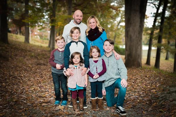Mike & Ashley Fall Family Photo Shoot