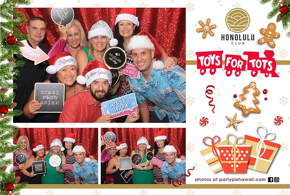 Honolulu Club Toys For Tots 2019 (LED Dazzle Booth)