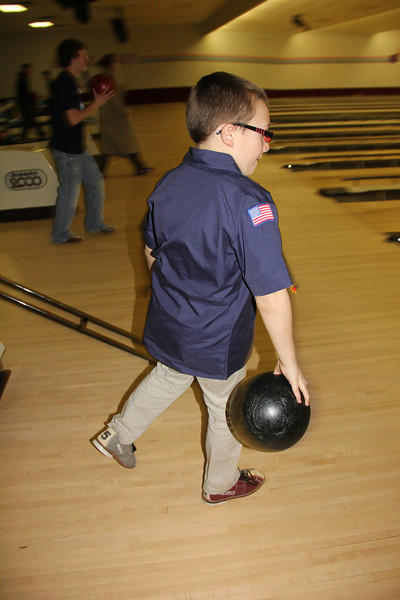 Scouts Bowling, 777, Tamaqua, Spare Time Lanes, Hometown (2-26-2013)