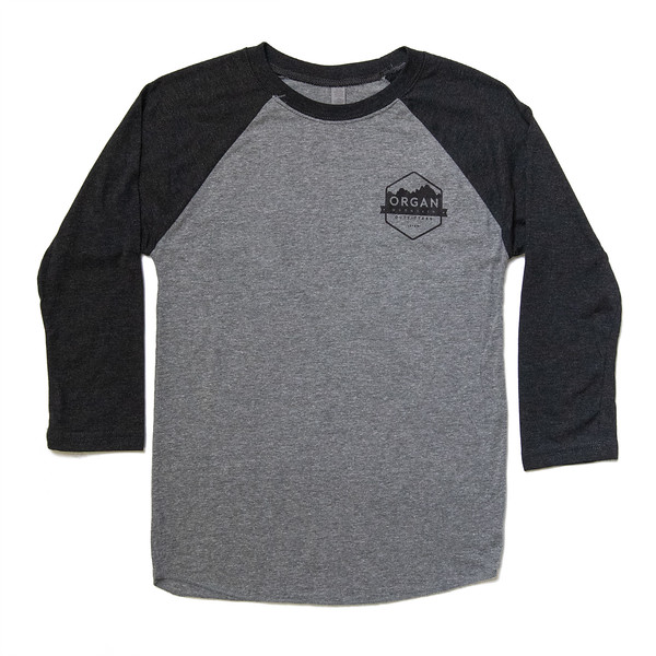 Organ Mountain Outfitters - Outdoor Apparel - Mens T-Shirt - Pocket Baseball Tee - Vintage Black Heather.jpg