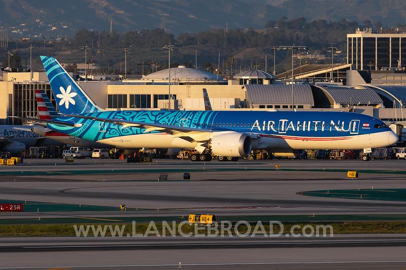 Air Tahiti Nui 787-9 - F-OTOA - LAX
