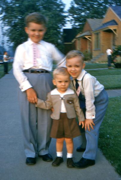 1960 - 15 Bob, Tom and ? Trzaskus