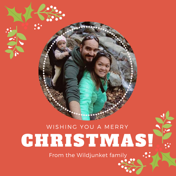 Christmas greetings from WildJunket