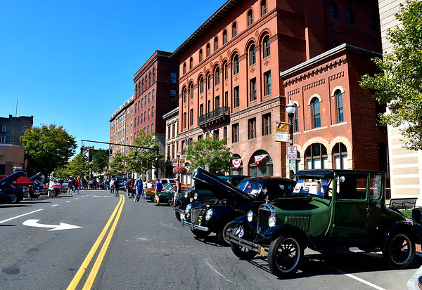 9/21/2019 Mike Orazzi | StaffrThe New Britain Downtown District's 13th annual car show on Saturday.