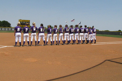 Southwestern Softball 04-16-11