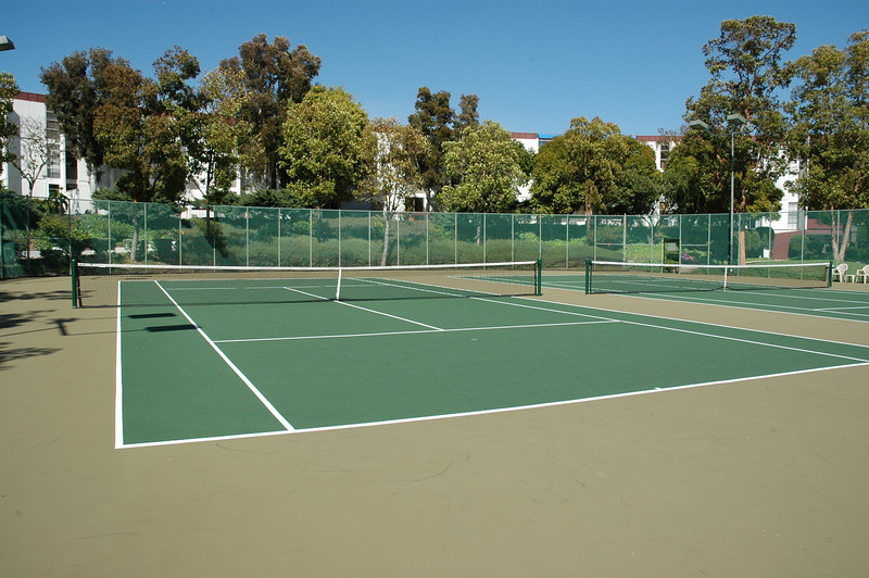 Private tennis court...just part of the ammenities...