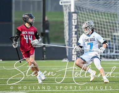 Lacrosse Boys Varsity - Stone Bridge vs Rock Ridge 4.3.2019 (by Steven Holland)