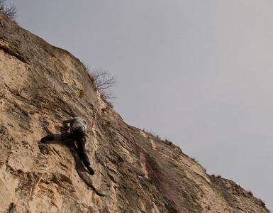 02 08 Sport Climbing in Crni Kal