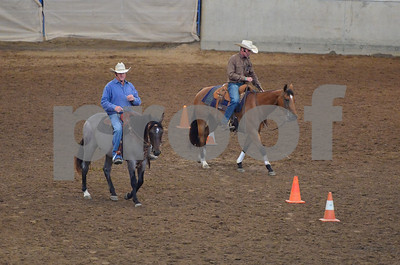 RANCH ROPING WITH BUCK SUN.