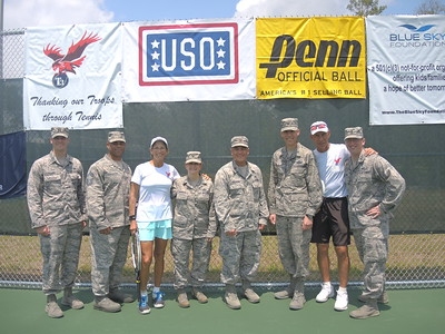 Boots on the Court - Eglin AFB 2014