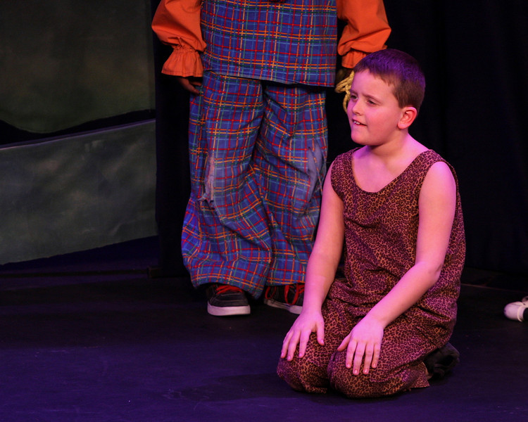 Jack & the Beanstalk, 19 February 2010: Lucas Felix as the Strong Man.