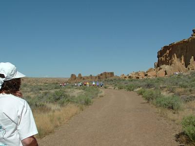 New Mexico Navajo Mission Trip Chaco Canyon 2007 July