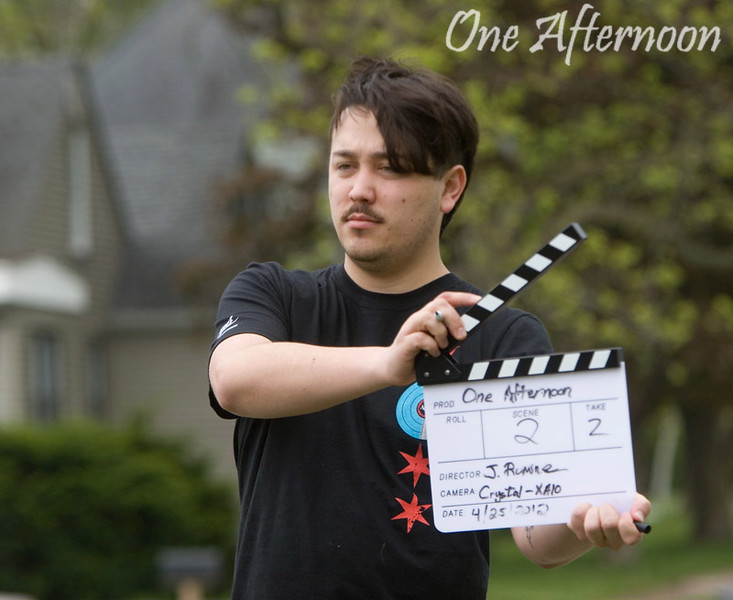 "Filming of ""One Afternoon"""