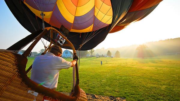 Highland Balloon Race