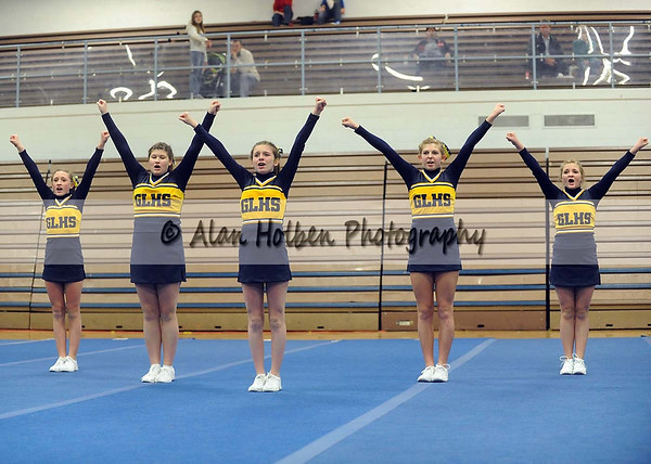 Cheer at LCC - Grand Ledge JV - Round 1 - Jan 25