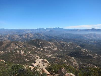Iron Mountain Run - Poway, CA  01.20.12