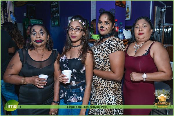Bamboo Shades Bar: Halloween Party